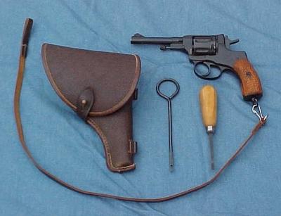 M1895 Nagant Revolver Reloading Project